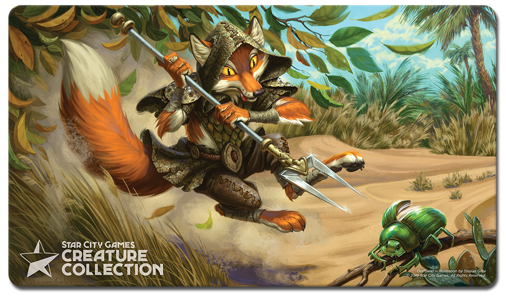 StarCityGames.com Playmat - Creature Collection - Outfoxed