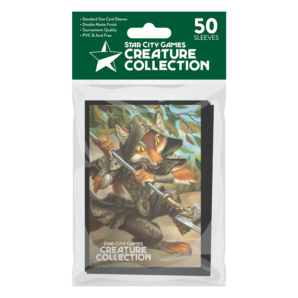 StarCityGames.com Matte Sleeves - Creature Collection - Outfoxed