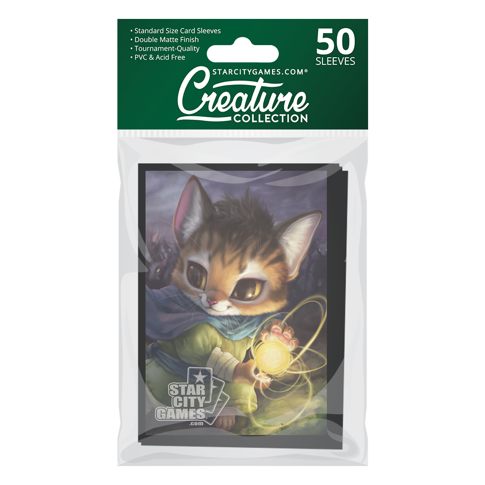 StarCityGames.com Matte Sleeves - Creature Collection - Purrdouken!