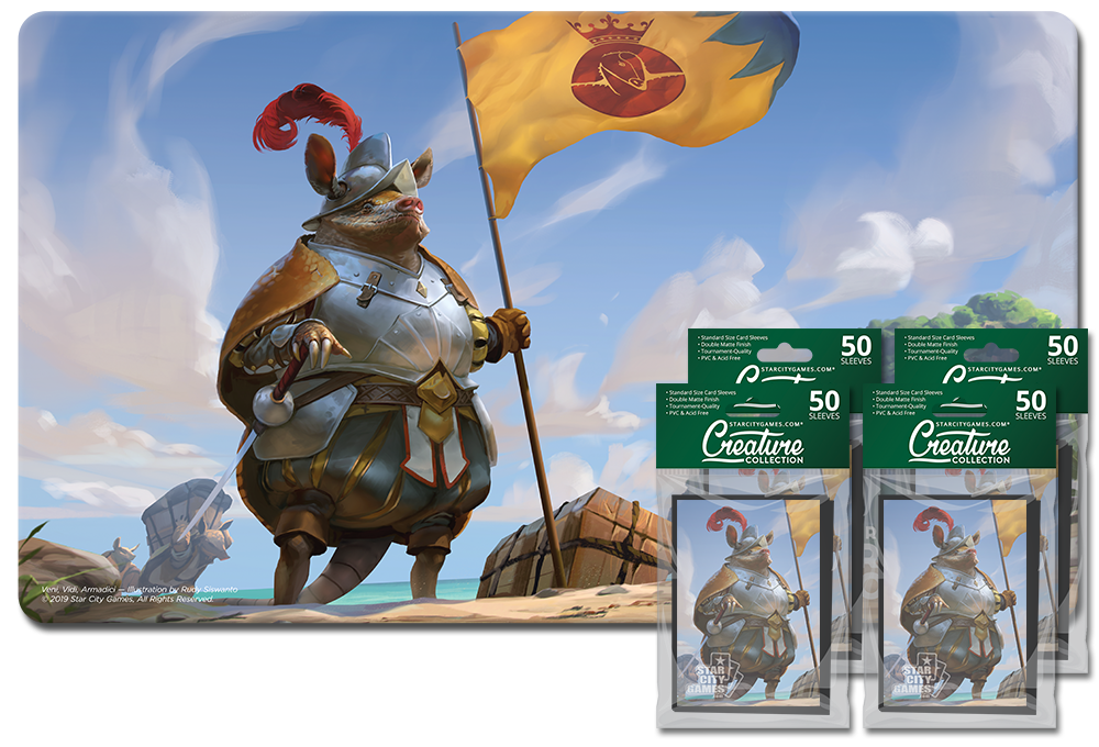 StarCityGames.com Player Bundle - Creature Collection - Veni, Vidi, Armadici