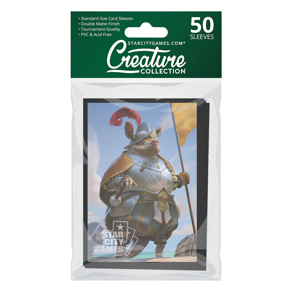 StarCityGames.com Matte Sleeves - Creature Collection - Veni, Vidi, Armadici