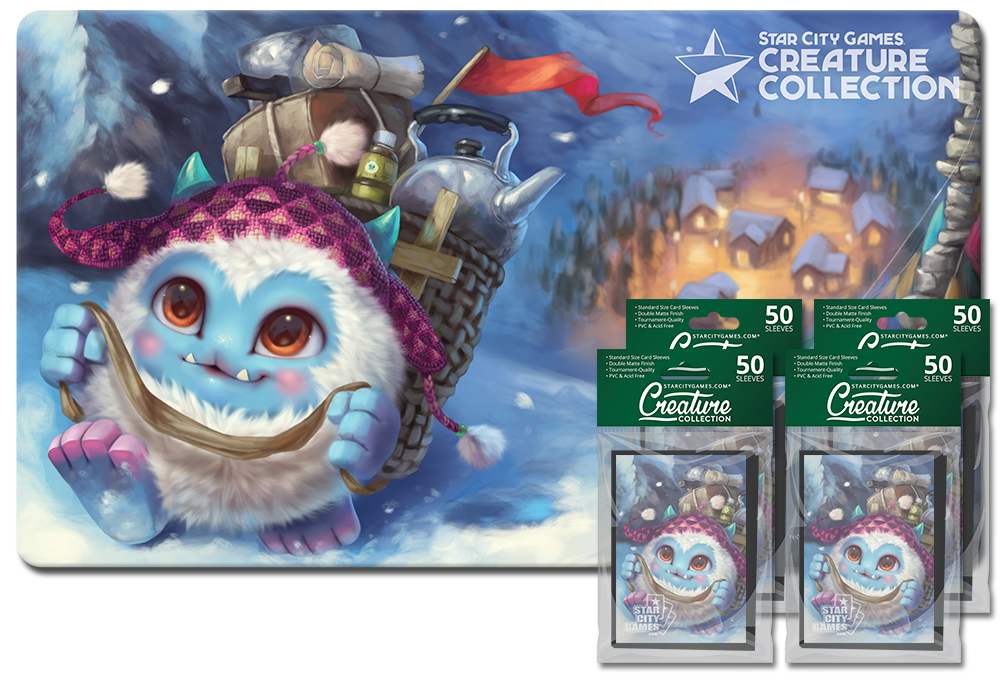 StarCityGames.com Player Bundle - Creature Collection - Yeti, Steady, Go!