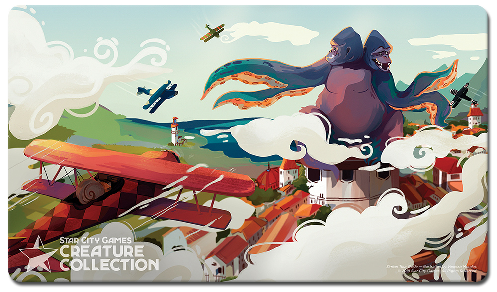 StarCityGames.com Playmat - Prerelease Exclusive Creature Collection - Simian Tour Guide