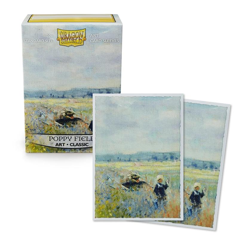 Dragon Shield Sleeves - Art Classic - Poppy Field