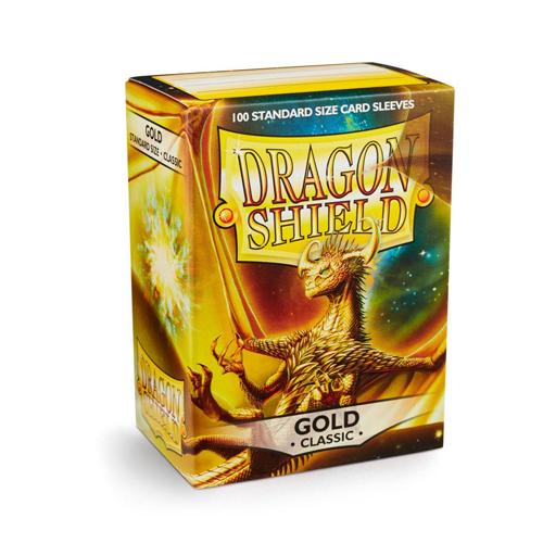 Dragon Shield Sleeves - Classic - Gold