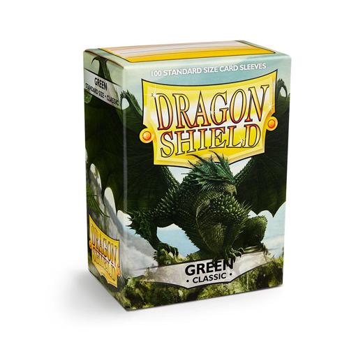 Dragon Shield Sleeves - Classic - Green