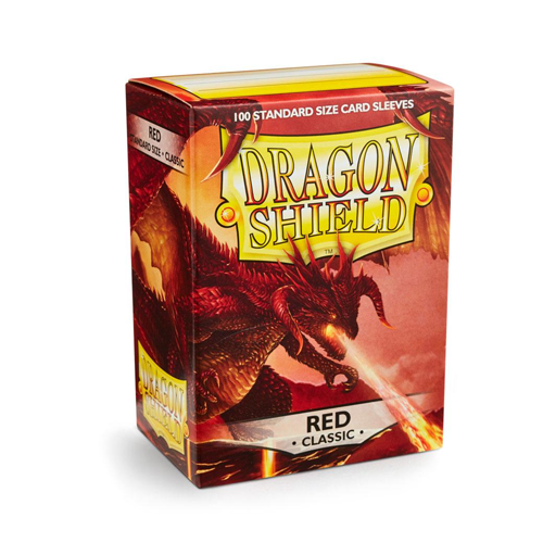 Dragon Shield Sleeves - Classic - Red