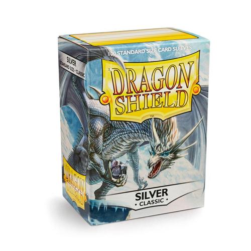 Dragon Shield Sleeves - Classic - Silver