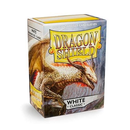 Dragon Shield Sleeves - Classic - White