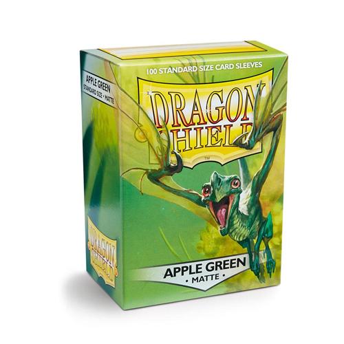 Dragon Shield Sleeves - Matte - Apple Green