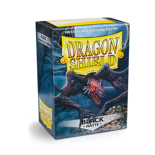 Dragon Shield Sleeves - Matte - Black