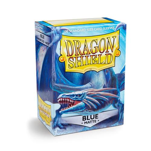 Dragon Shield Sleeves - Matte - Blue