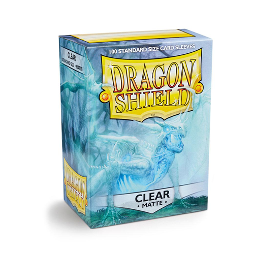 Dragon Shield Sleeves - Matte - Clear