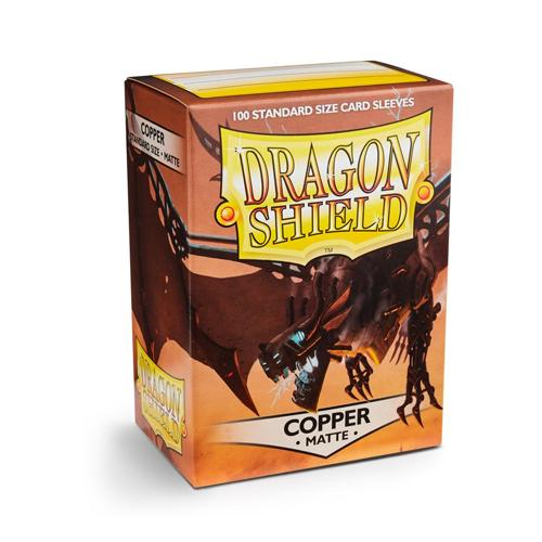 Dragon Shield Sleeves - Matte - Copper