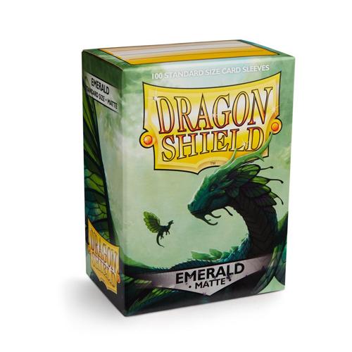 Dragon Shield Sleeves - Matte - Emerald