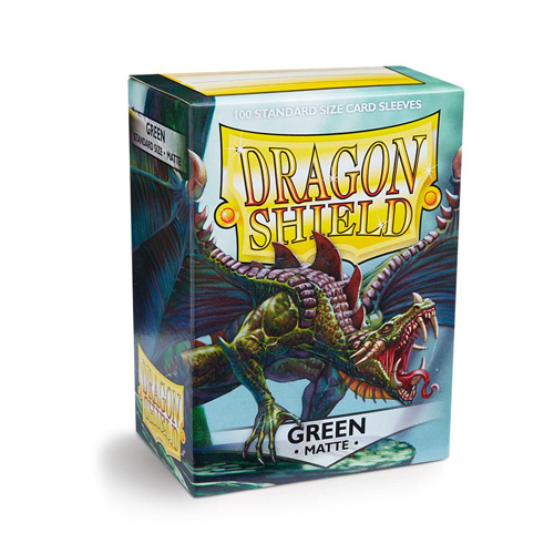 Dragon Shield Sleeves - Matte - Green
