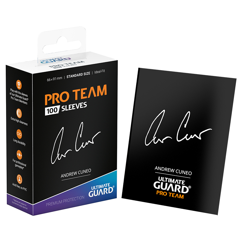 Ultimate Guard Pro Team Sleeves - Andrew Cuneo