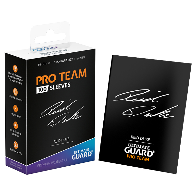 Ultimate Guard Pro Team Sleeves - Reid Duke