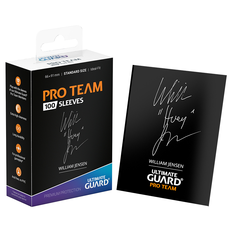 Ultimate Guard Pro Team Sleeves - William Jensen