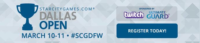 #SCGDFW March 10-11!