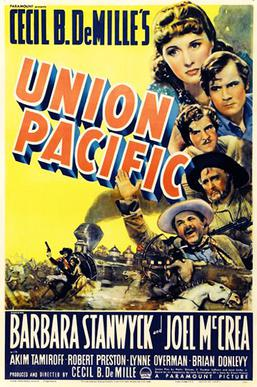 Union Pacific film poster