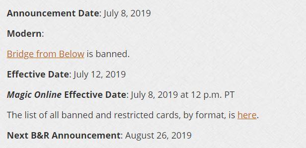 Banned in Modern