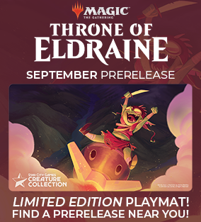 Throne of Eldraine Prerelease Weekend