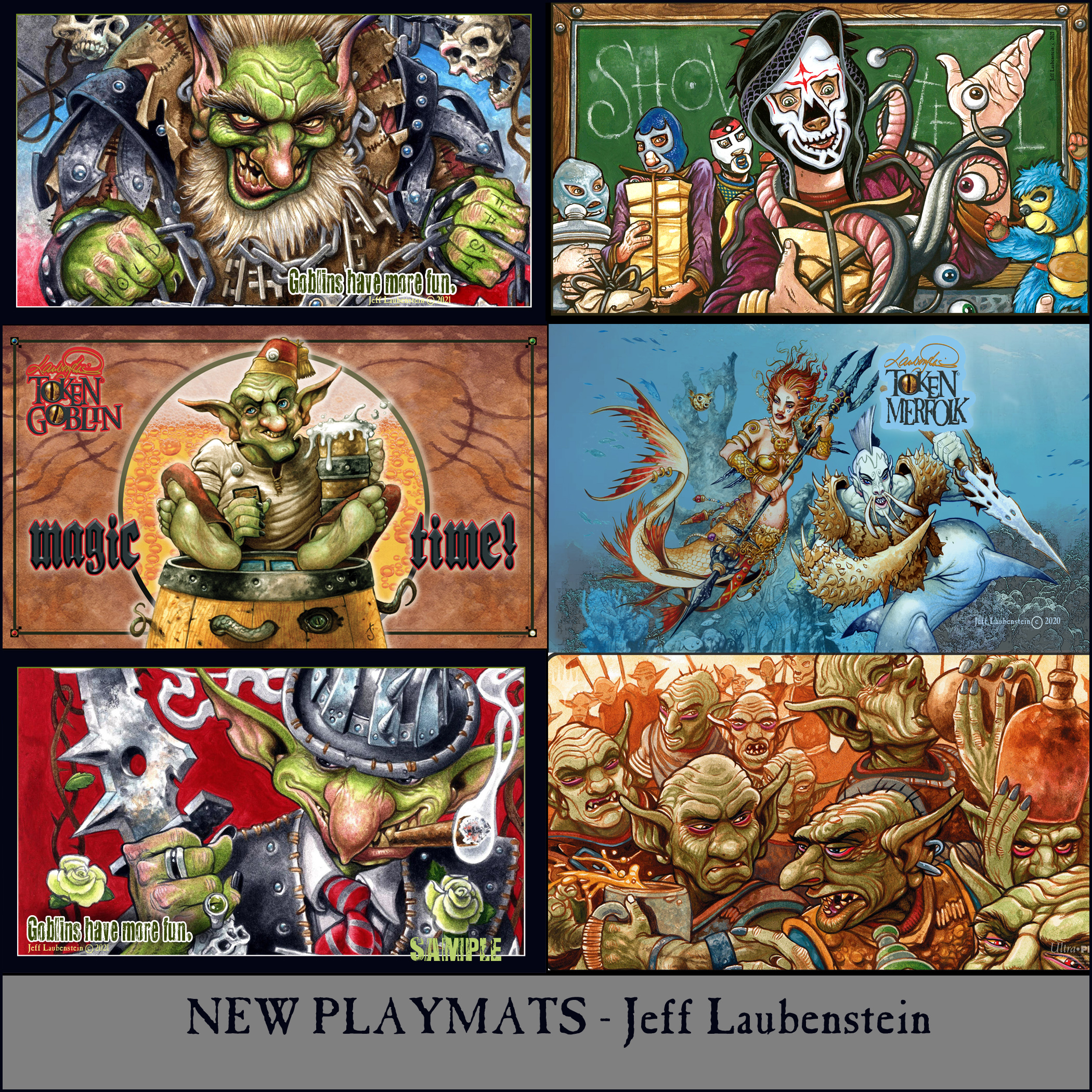 Jeff Laubenstein Playmats