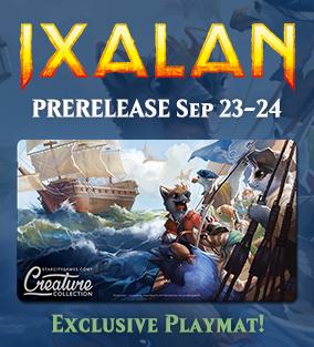 Ixalan Prerelease September 23-24